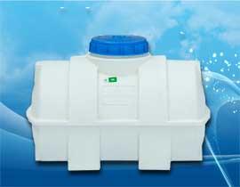 منبع افقی یا خوابیده 100 لیتری پلی اتیلن و پلاستیکی
