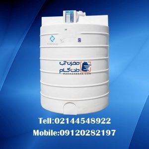 منبع پلاستیکی عمودی 3000 لیتری