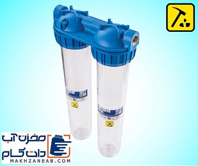 فیلتر آب دو مرحله ای
