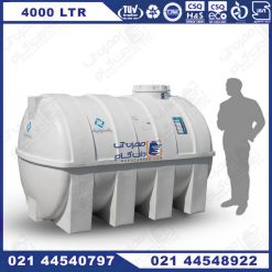 مخزن آب 4000 لیتری پلاستیکی پلی اتیلن