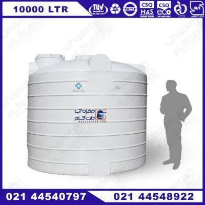 منبع آب پلی اتیلن 1000 لیتری