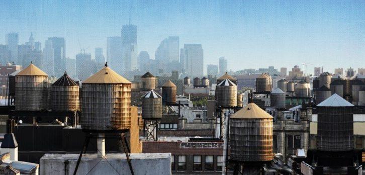 مخزن آب در شهر نیویورک