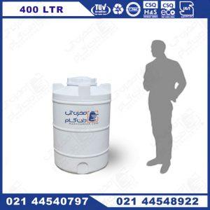 منبع آب 400 لیتری پلی اتیلن