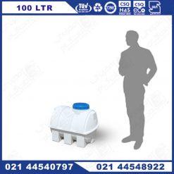 منبع پلاستیکی 100 لیتری