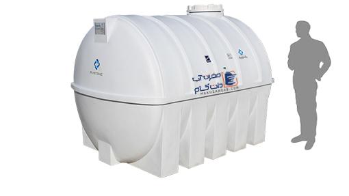 مخزن آب پلاستیکی پلی اتیلن 5000 لیتری