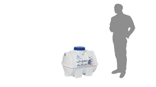 مخزن 100 لیتری آب پلاستیکی