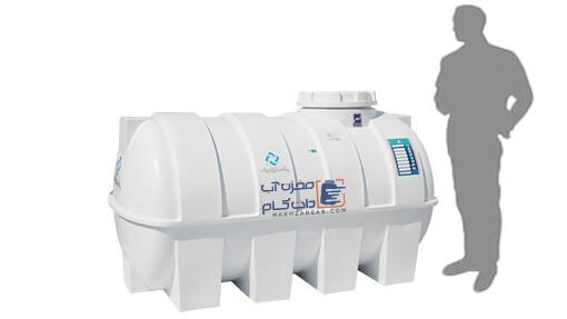 منبع 1500 لیتری پلی اتیلن یا پلاستیکی