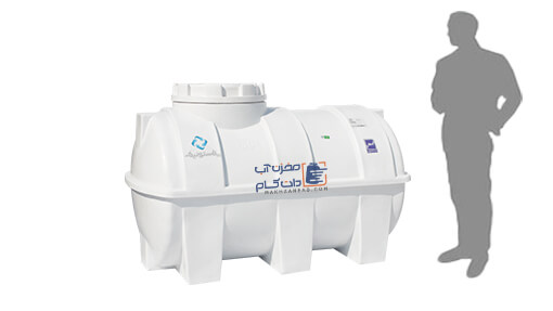 منبع 750 لیتری پلاستیکی آب شرب