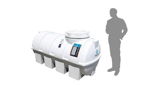 تانکر آب پلاستیکی 700 لیتری