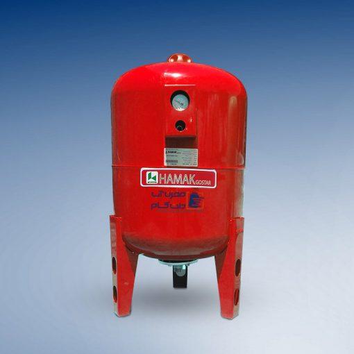 منبع تحت فشار هاماک 100 لیتری درجه دار