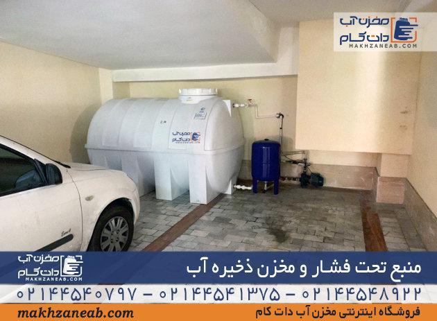 منبع تحت فشار مخزن ذخیره آب